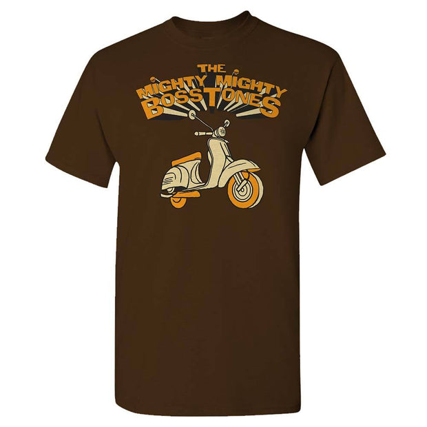 MIGHTY MIGHTY BOSSTONES Scooter Brown T-Shirt