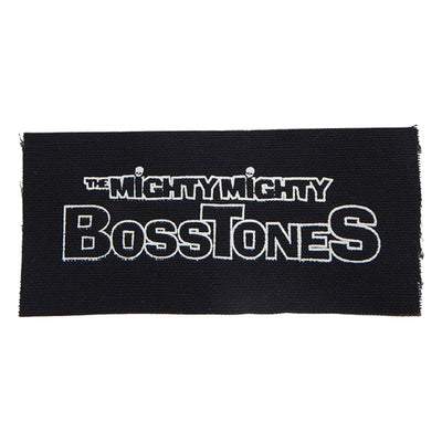MIGHTY MIGHTY BOSSTONES White Outlined Logo Patch