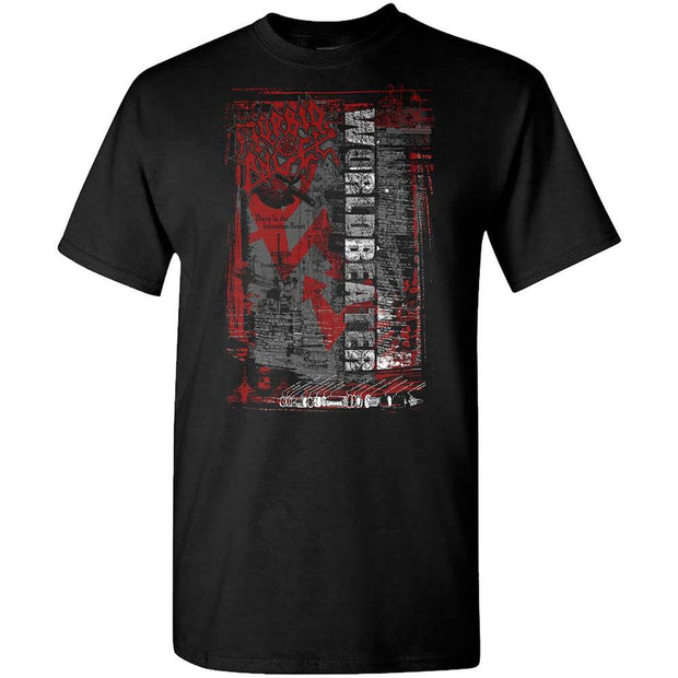 MORBID ANGEL Worldbeater Red Arrows T-Shirt
