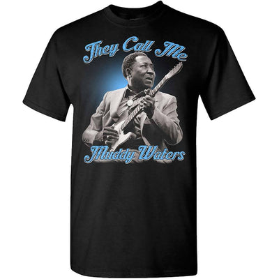MUDDY WATERS They Call Me Muddy Waters T-Shirt
