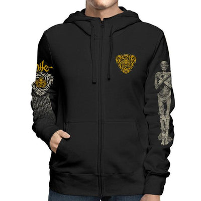NILE Scarab What Should Not Be Zip Hoodie