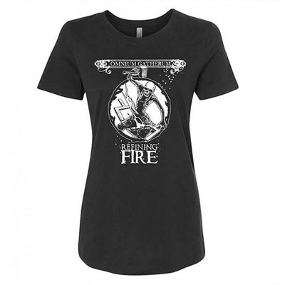 OMNIUM GATHERUM Refining Fire Ladies T-Shirt