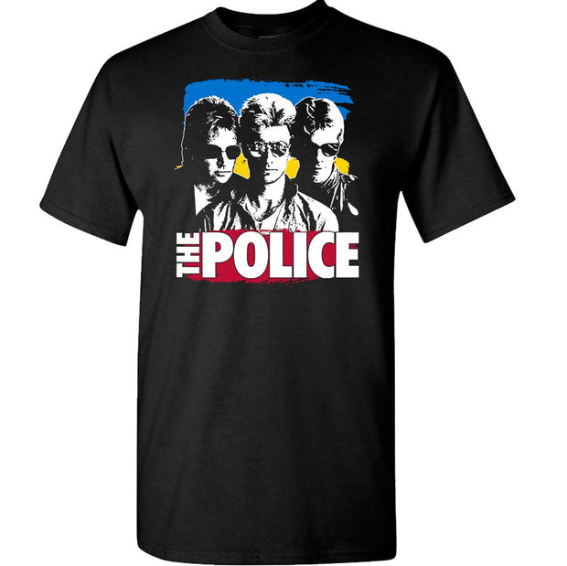 THE POLICE Sunglasses with Paint T-Shirt