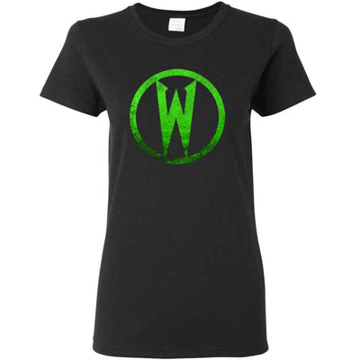 WEDNESDAY 13 Circle Ladies T-Shirt