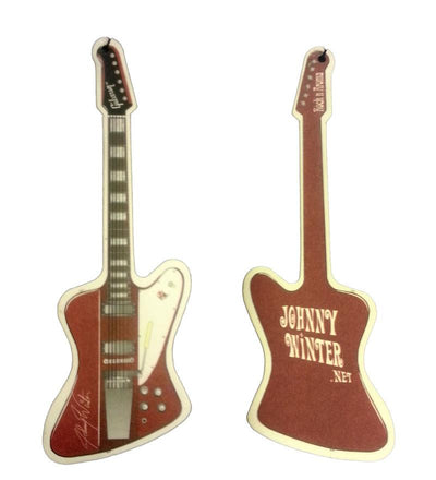 JOHNNY WINTER Guitar Air Freshener