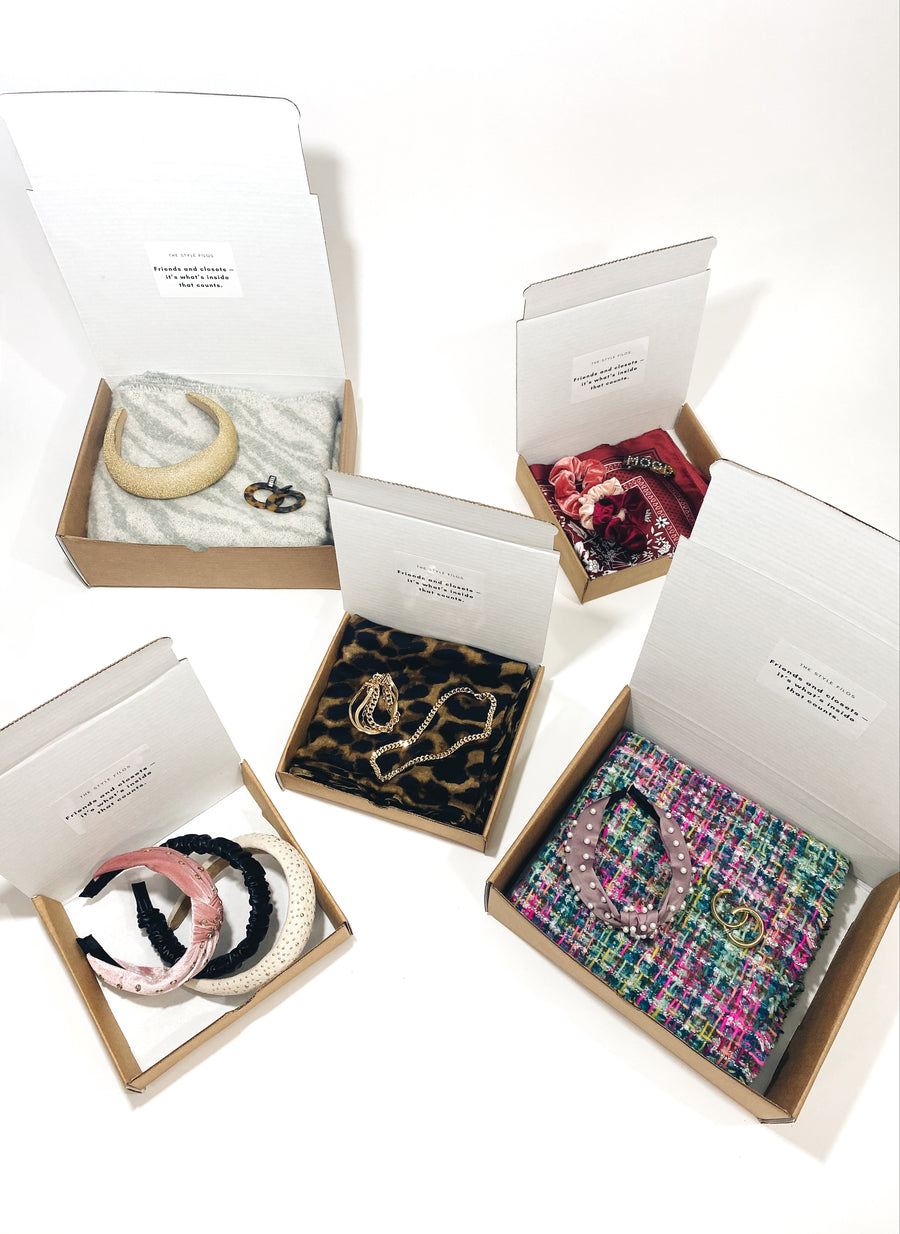The Custom Box, choose any 3 accessories - $44