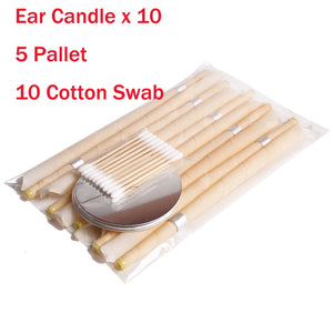 10pcs Ear Wax Removal Natural Beeswax Propolis Indiana Therapy Fragrance Candle