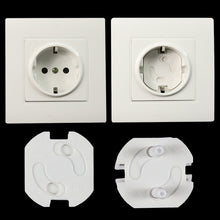 Load image into Gallery viewer, 10pcs EU Power Socket Electrical Outlet Baby Kids Child Safety Guard Protection Anti Electric Shock Plugs Protector Rotate Cover