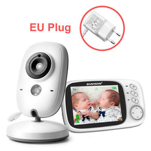 Load image into Gallery viewer, VB603 baby wireless monitor 3.2 inch LCD 2 way audio call night vision surveillance security camera nanny