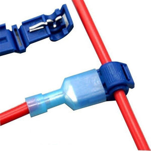 Fast cable waterproof electrical connector