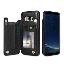 Load image into Gallery viewer, Samsung Galaxy KISSCASE card slot case, suitable for Samsung Note 8 9 10 Plus leather case