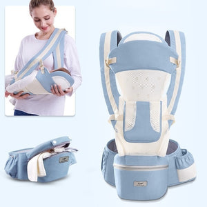 0-48M ergonomic kangaroo baby wraparound travel carrier