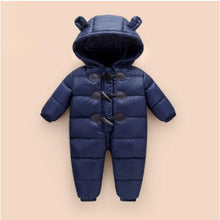 Load image into Gallery viewer, Russian winter baby winter clothes, 90% duck down coat coat is suitable for girls, suitable for baby winter clothes