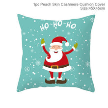 Load image into Gallery viewer, 45x45cm Santa Claus Elk Christmas Pillowcase 2020 Christmas Decoration Home Christmas Decoration Christmas Gift