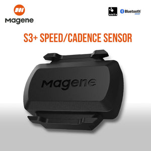 Bicycle wireless Bluetooth speedometer Magne S3 + speed/cadence sensor ANT