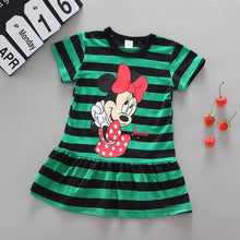 Load image into Gallery viewer, Beautiful fashion girl summer dress baby princess dress A line pure cotton children soft clothes kids clothing dress