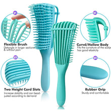 Load image into Gallery viewer, Brush curly hair comb brush tangled comb