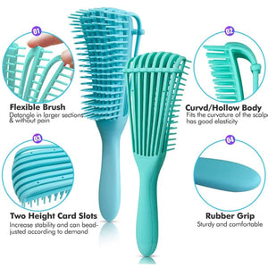 Brush curly hair comb brush tangled comb