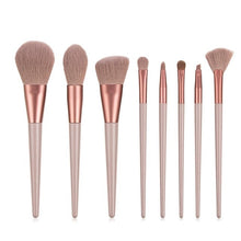 Load image into Gallery viewer, Large makeup brush set white concealer liquid foundation blush powder mixed highlighter brush
