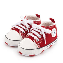 Load image into Gallery viewer, Baby Classic Canvas Sneakers Newborn Baby First Toddler Shoes Baby Toddler Non-slip Baby Shoes