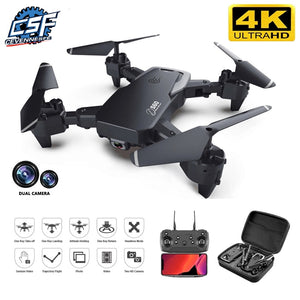 4k professional high definition wide angle camera drone 1080P WiFi fpv dual camera height drone