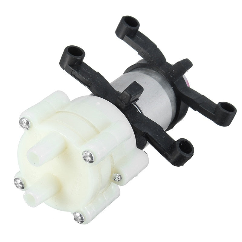Priming Diaphragm Mini Pump Spray Motor 12V Micro Pumps For Water Dispenser 90mm x 40mm x 35mm Max Suction 2m