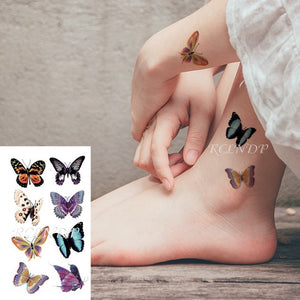 Simple waterproof tattoo stickers for ears and fingers