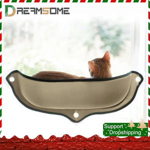 Suction Cup Cat Hammock Pod Recliner Hanging Window Pet Cat Warm Bed Soft Ferret Cage