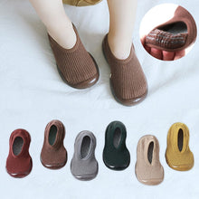 Load image into Gallery viewer, Autumn non-slip children's socks shoes children soft rubber sole toddler baby shoes rubber sole