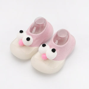 Autumn non-slip children's socks shoes children soft rubber sole toddler baby shoes rubber sole