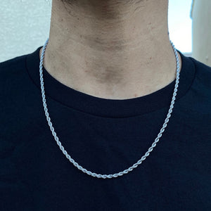 Men's Classic Temperament Fashion Cube Rope Necklace Men's Jewelry Gifts