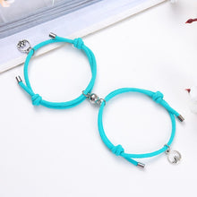 Load image into Gallery viewer, 2pcs couple magnet attract each other creative personality couple bracelet jewelry