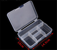 Load image into Gallery viewer, Plastic jewelry box plastic tool box craft storage box packaging wholesale