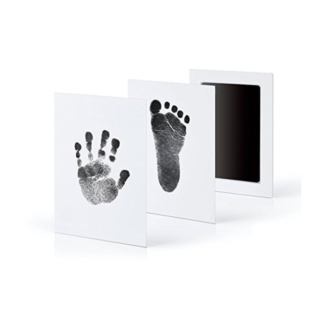 0-6 months old newborn pet dog is safe, non-toxic, non-skin contact, ink-free stamp pad set paw print souvenir