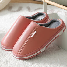 Load image into Gallery viewer, Winter home slippers indoor bedroom couple floor shoes cartoon cat shoes non-slip soft winter warm house slippers