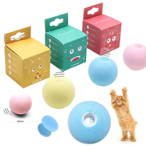 Pet toy new gravity ball smart touch sounding toy pet interactive toy squeak toy ball