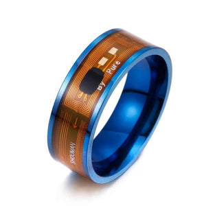 Magic Wear NFC smart digital ring with functional fashionable men's ring, suitable for Android phones