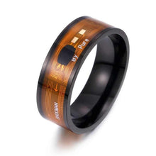 Load image into Gallery viewer, Magic Wear NFC smart digital ring with functional fashionable men's ring, suitable for Android phones