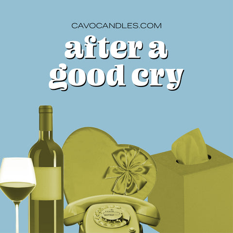 """After A Good Cry"" Playlist Cover"