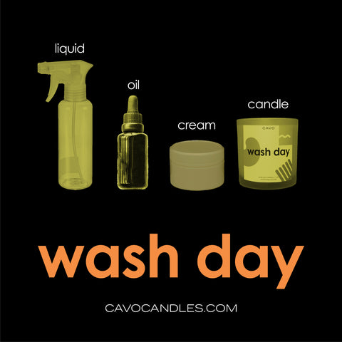 """Wash Day"" Playlist Cover"