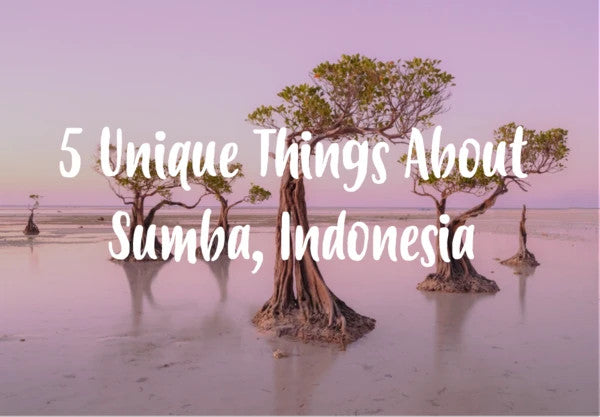 5 Unique Things about Sumba Island, Indonesia