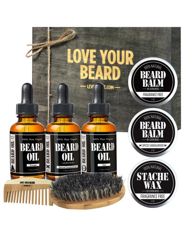 Premium Beard Kit Set