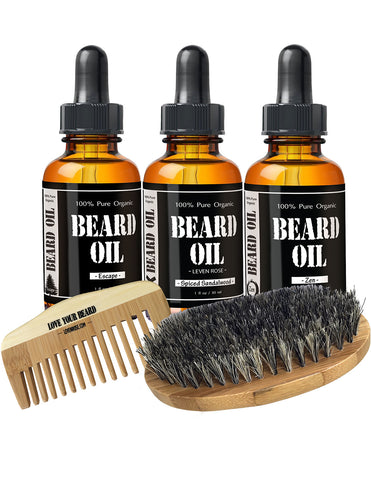 Leven Rose Starter Beard Kit Set