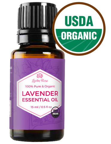 USDA Organic Lavender Essential Oil - 15 ml
