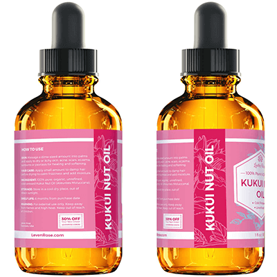 Kukui Nut Oil - 1 oz
