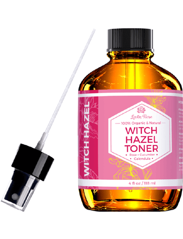 Witch Hazel Rose Water Toner - 4 oz