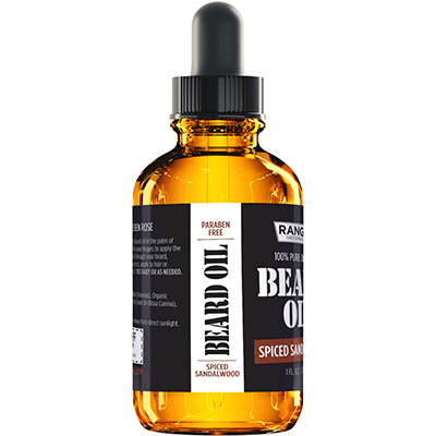 Beard Oil - Spiced Sandalwood Scent - 1 oz