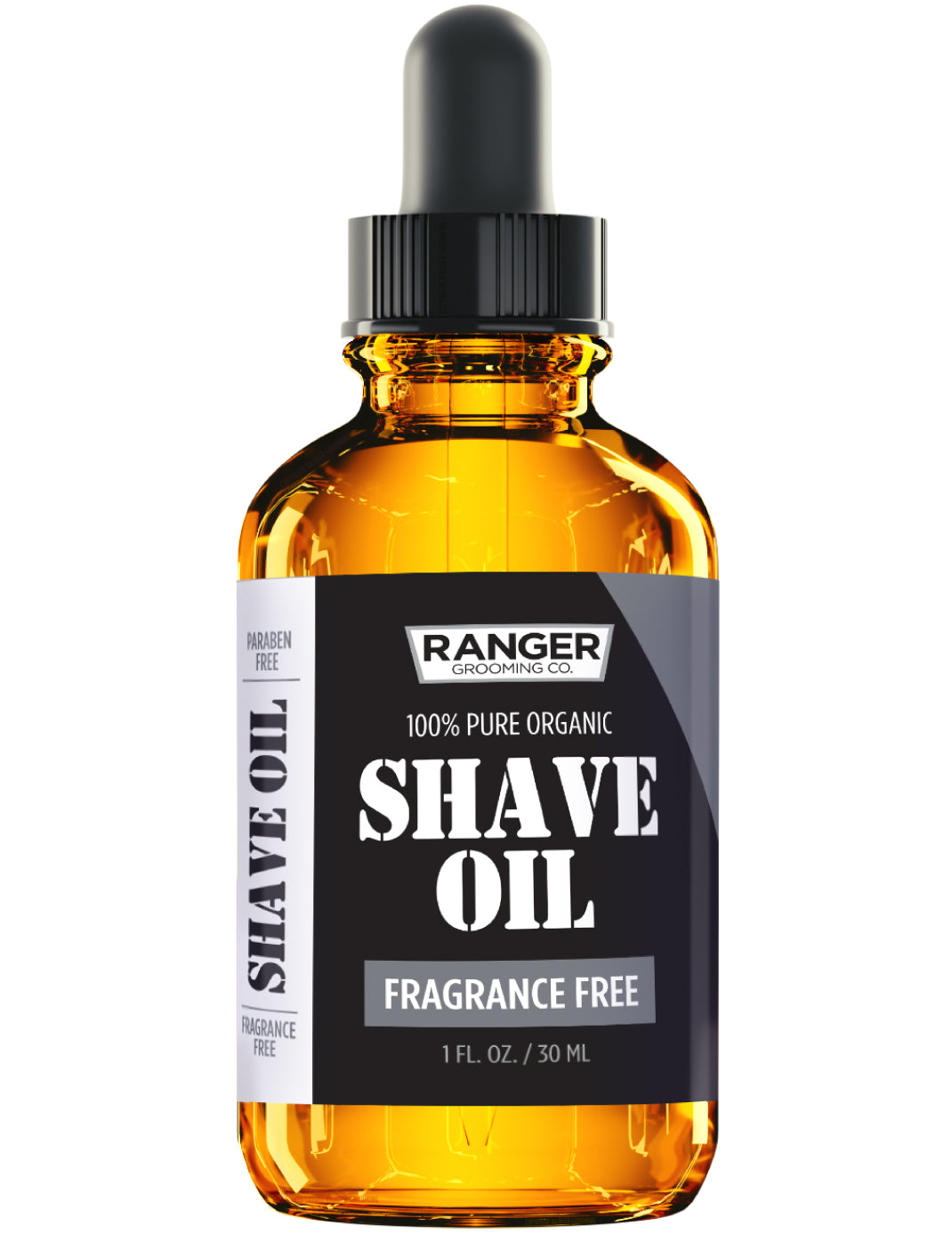 Shave Oil - Fragrance Free - 1 oz