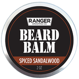 Beard Balm and Conditioner - Spiced Sandalwood - 2 oz