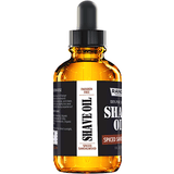 Shave Oil - Spiced Sandalwood Scent - 1 oz